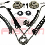 For 5.4LFord F150 F250 Lincoln 3V Timing Chain Kit Cam Phaser Timing+cover Seal